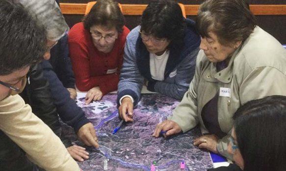 Los regantes del Cachapoal su exitoso programa de Participación Comunitaria en Coya