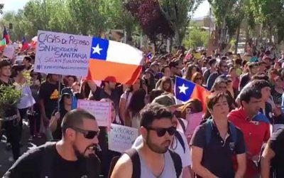 manifestaciones rancagua