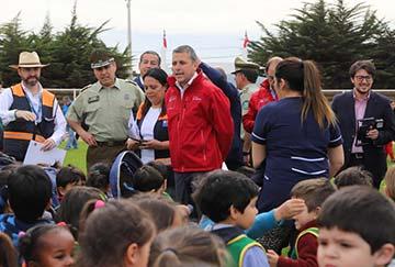Más de 220 mil estudiantes participaron de simulacro de sismo y tsunami en la región de O'Higgins