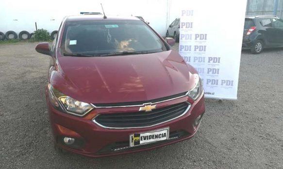 PDI recupera auto clonado en San Vicente