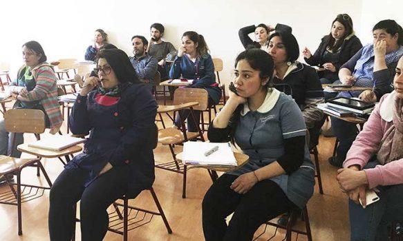 Profesores de Coya inician trabajo en ecología fluvial como apoyo a la educación del agua