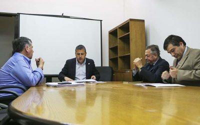 Rector Correa y alcalde de Rengo se reúnen con Intendente para gestionar recursos para Escuela de Ingeniería
