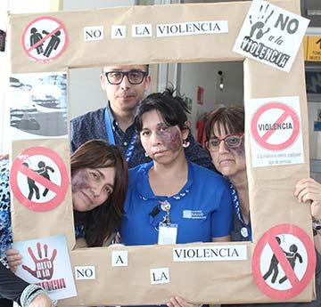 """Salud Machalí efectuó intervención educativa """"Familia y Amor contra la Violencia Intrafamiliar"""""""