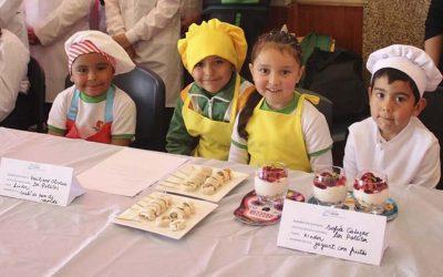 Salud Machalí lanza nueva versión de concurso escolar de preparaciones de recetas para una alimentación saludable