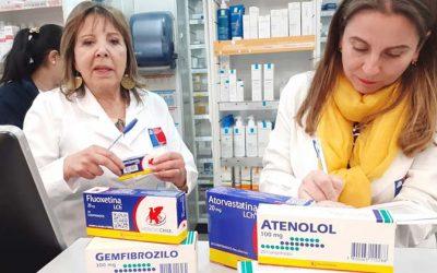 Seremi de Salud fiscaliza disponibilidad de Bioequivalentes en Farmacias