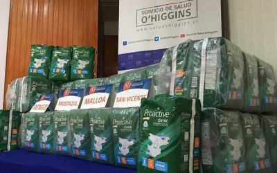 Servicio de Salud O'Higgins entrega beneficio a Adultos Mayores de Cachapoal