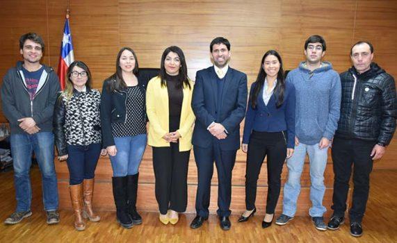 TOP Rancagua recibe la visita de alumnos de Derecho de la Universidad la República