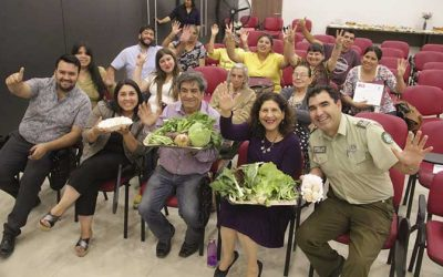 Alcaldesa de Palmilla presidio ceremonia de cierre de programa autoconsumo