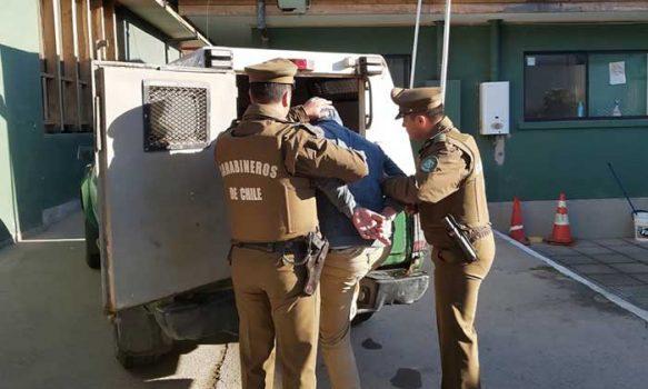 Carabineros detuvo a sujeto por tráfico de drogas en Paredones