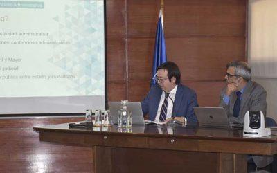 Corte de Rancagua organizó seminario sobre procedimientos contenciosos administrativos