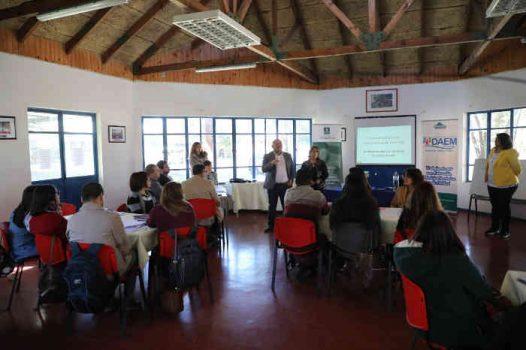 DAEM capacita a equipos de Convivencia Escolar en Graneros