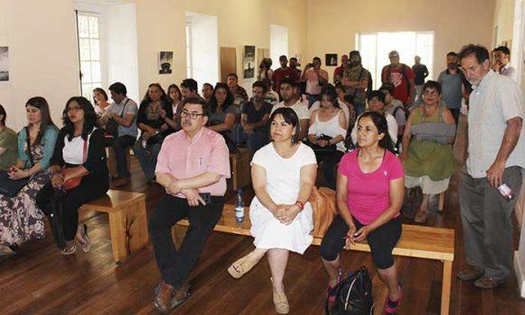 En Rancagua se reunió la comunidad artística para participar de Diálogo Cultural Ciudadano