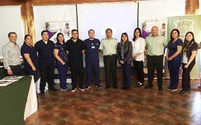Enfermero experto en emergencia participó en capacitación para funcionarios de Gendarmería