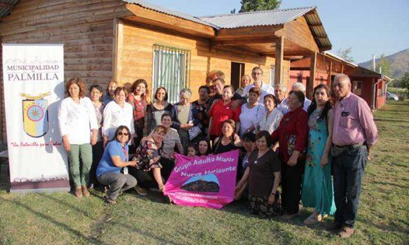 Entregan sede social a club de adultos mayores de rinconada de Palmilla