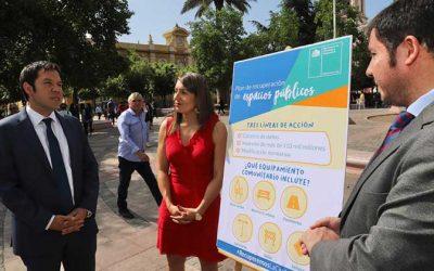 Gobierno lanza plan de recuperación de espacios públicos y semaforización