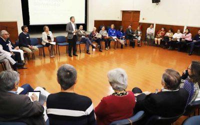 Inician diálogos que buscan recoger las demandas ciudadanas
