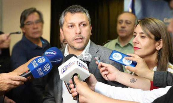 Intendente Masferrer llama a lograr acuerdos por la paz, la justicia y una nueva Constitución