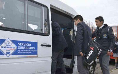 MTT abre licitación de transporte gratuito que beneficiará a 133 escolares de Litueche y Lolol