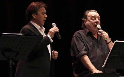 Patricio Manns y Tito Beltrán iniciaron gira de conciertos en el Teatro Regional Lucho Gatica