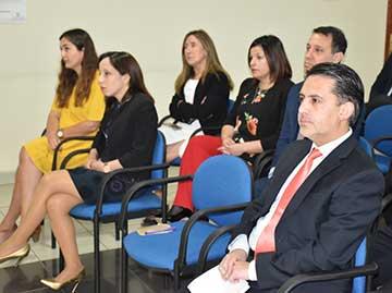 Presidente de la Corte de Rancagua participó en acto por la eliminación de la violencia contra la mujer