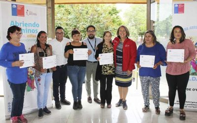 Programa Abriendo Caminos mejora calidad de vida de 80 niños y adolescentes de la Región