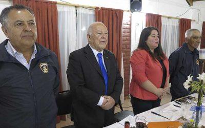 Rotary Club Santa Cruz rinde sentido homenaje a Bomberos de Chile