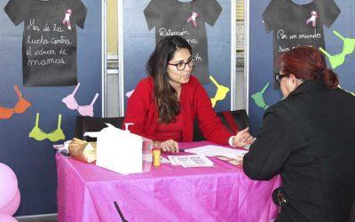 Salud Machalí conmemoró el mes preventivo del cáncer de mamas promoviendo la mamografía