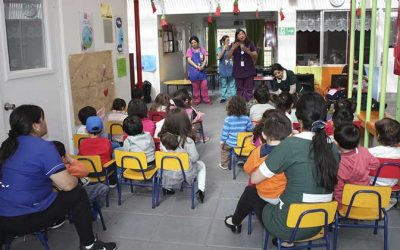 Salud Machalí realiza Magicoterapia en preescolares de la comuna para prevenir caries y educar sobre la salud bucal