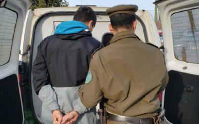 Sujeto fue detenido tras robar desde el interior de una escuela de la comuna de Chimbarongo