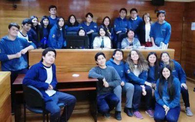 TOP de San Fernando recibió visita de alumnos del colegio El Real