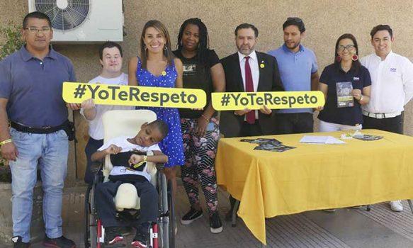 """Autoridades regionales lanzan segunda consulta ciudadana de discriminación y campaña """"Yo te respeto"""""""