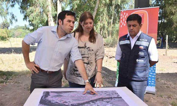 Comienza el diseño del futuro Parque Colchagua en Santa Cruz