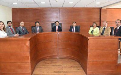 Definen integración de salas y presidencia para el año judicial 2020