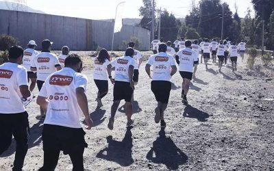 Deporte laboral entre los cerros de Requínoa