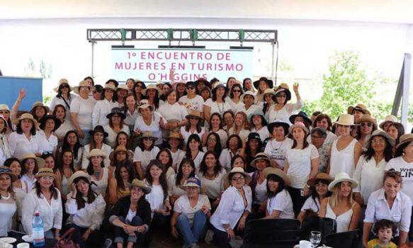 Directora nacional del Sernatur encabeza exitoso Primer Encuentro de Mujeres de Turismo Región O'Higgins