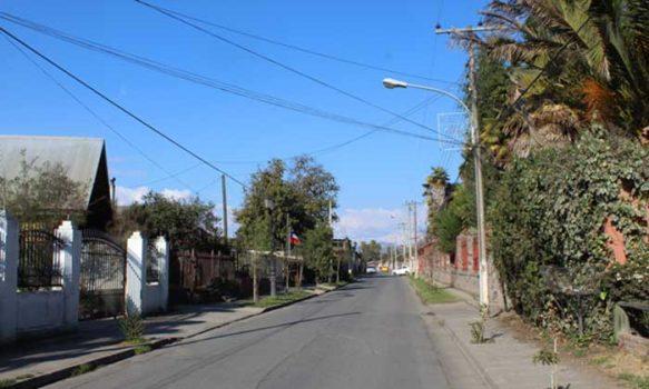 En Olivar se recambian el 100% de las luminarias a LED