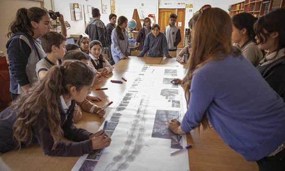 Escolares son protagonistas en toma de decisiones para mejorar el centro de Coinco