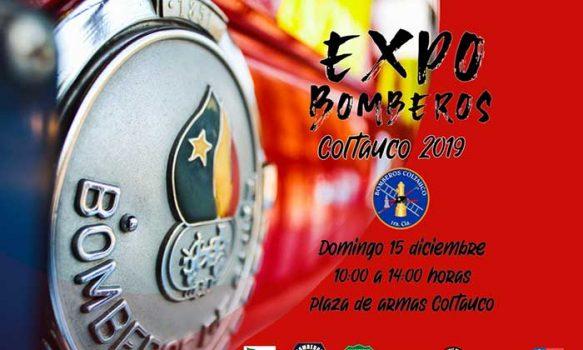 Este domingo realizarán la Primera Expo Bomberos de Coltauco