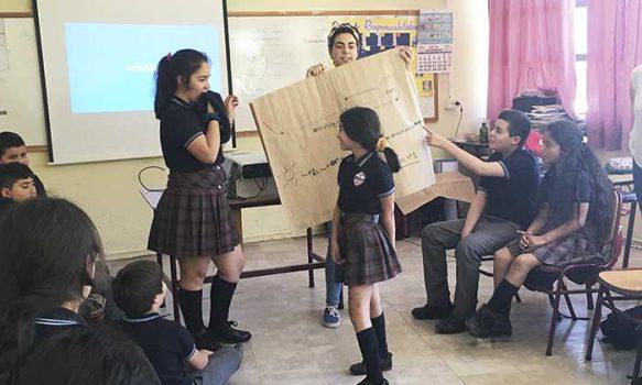 Exitoso taller de Ciencias en el colegio Bellavista para aprender la ecología del Alto Cachapoal