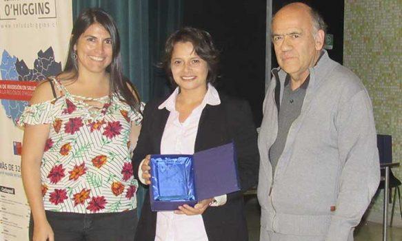 Funcionaria de Some de Hospital de Marchigüe es premiada por Buen Trato al Usuario