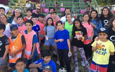 Fundación Fútbol Más O'Higgins cierra su temporada 2019