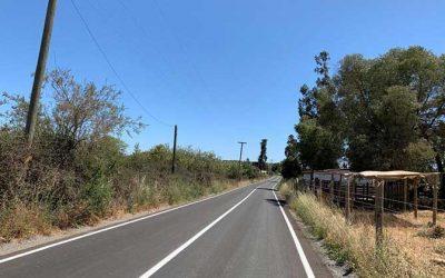 MOP O'Higgins inauguró pavimentación de camino rural Ranquilco en Litueche