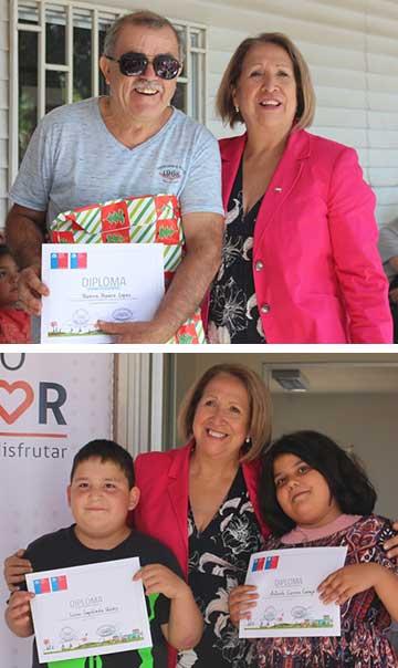 Pasaron de curso y se hicieron amigos: El programa en que adultos mayores apoyan a estudiantes