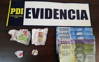 PDI detiene a dos personas e incauta LSD en Pichilemu