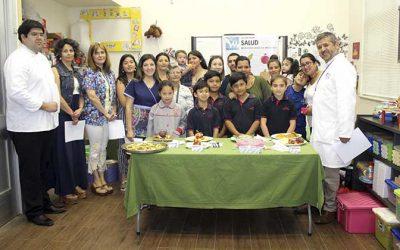 Salud Machalí realizó cuarta versión de concurso escolar de preparaciones de recetas para una alimentación saludable