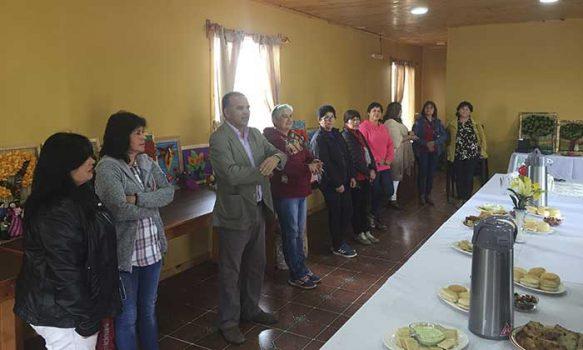 Senda previene Pichilemu realiza muestra de arte-terapia en talleres de la comuna