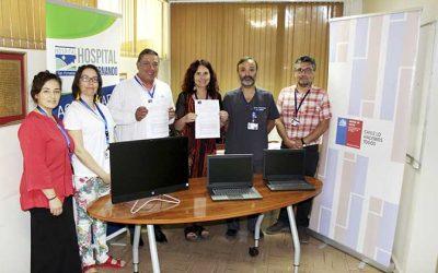 Seremi de Salud entrega aporte a Hospital San Fernando en materia de prevención de suicidio