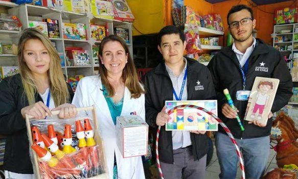 Seremi de Salud hace llamado a comprar juguetes que fomenten la actividad física