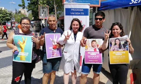 Seremi de Salud O'Higgins potencia campaña preventiva de VIH