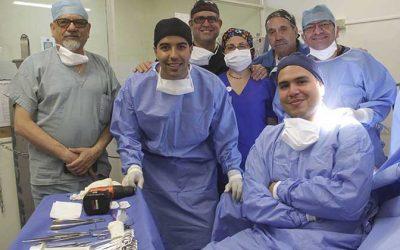 Trabajo de equipo entre hospitales logra operaciones traumatológicas
